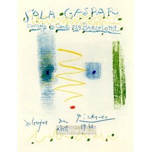 Affiche Sala Gaspar, opus 339 (1961)