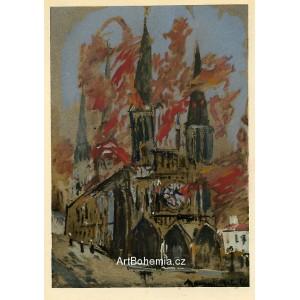 La Cathédrale en Flammes