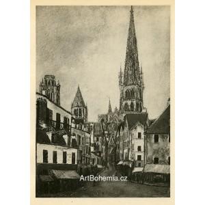 Église a Rouen (1913)