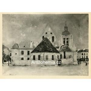 Église a Pontoise (1921)