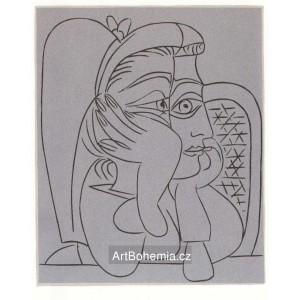 La Femme accoudée (Jacqueline), opus 922 (2.10.1959)