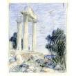 Sunion - brána řeckého chrámu II
