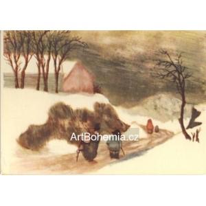 Cesta do vesnice (Zima 10)