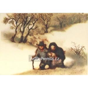 Procházka s miminkem (Zima 7)