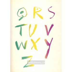Alphabet Q-Z