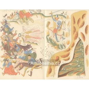 Dav prchající před drakem, opus 662