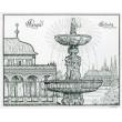 Praga - Zpívající fontána a Belvedere