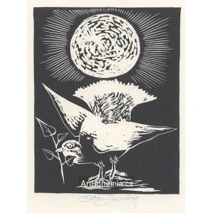 Ptáček pod sluncem s lipovou ratolestí, opus 471