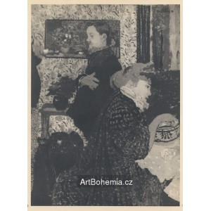 Vallotton et Missia Natanson (1899)