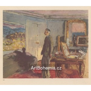 Pierre Bonnard devant sa toile (1925-35)