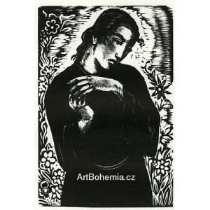 Žena v černém - PF 1940 Josef Hodek