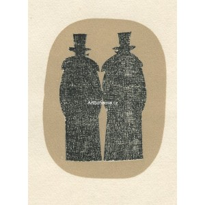Dva muži v dlouhých kabátech