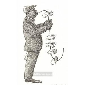 Černošský saxofonista
