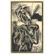 Album Veraikon 1919-1920 moderní dřevorytcové - komplet 9 autorů