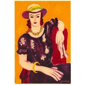 Femme a la Chaise Rouge (1936)