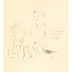 Deux Enfants assis sur un banc (1945), opus 93