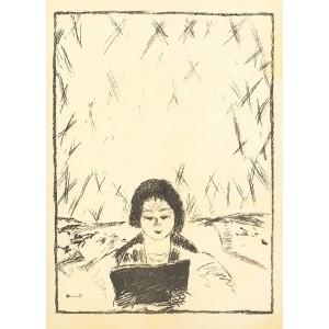Affiche pour le Bulletin de la Vie artistique (1926), opus 76