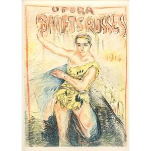Affiche pour les Ballets Russes (1914), opus 75