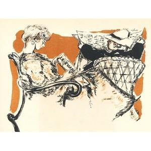 Affiche d´intérieur pour Le Figaro (1898), opus 70