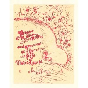 Billet de naissance (1898), opus 69