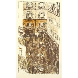 Coin de Rue vue d´en haut (Quelques aspects de la vie de Paris) (1899), opus 68