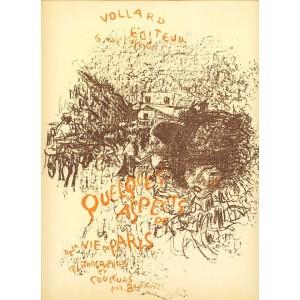 Couverte (Quelques aspects de la vie de Paris) (1899), opus 56