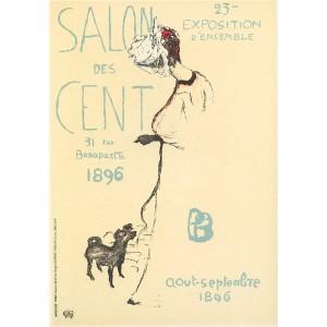 Affiche pour le Salon des Cent (1896), opus 45