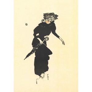 Femme au parapluie (La Revue Blanche) (1895), opus 35
