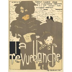 Affiche de la Revue Blanche (La Revue Blanche) (1894), opus 32