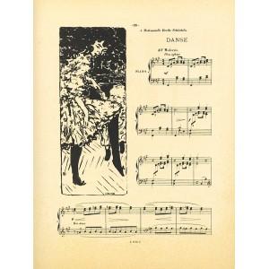 Danse (Petites scenes familieres) (1893), opus 18