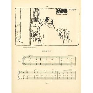 Priere (Petites scenes familieres) (1893), opus 10