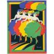 Čtyři šantánové tanečnice