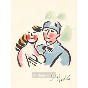 Loučení (1927)