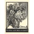 Kytice - PF 1934 A.Burka s chotí