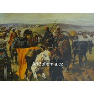 Vojska Tamary na Dněpru