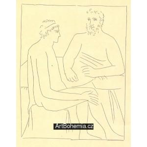 Numa suit les cours de Pythagore (Les Métamorphoses d´Ovide)