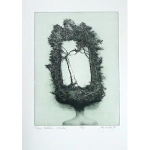 Dáma v klobouku II (Zrcadlo) - Lady with a Hat II (Mirror), opus 487