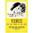 Fetes de Pâques - Vence, 1953 (Les Affiches originales)