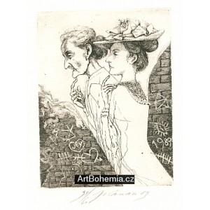 Dvě dámy (Hommage à Bohumil Hrabal)