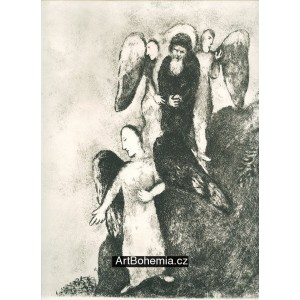 Abraham accompanied the three angels (8)