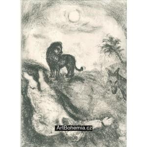 A prophet is slain by a lion (82)