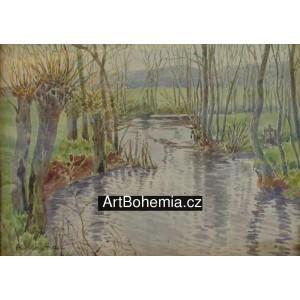 Vrby u potoka