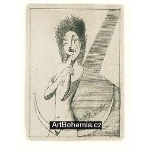 Dívčí půlakt na půlměsíci, opus 173 (1948)