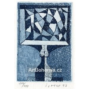 Akt a geometrické obrazce
