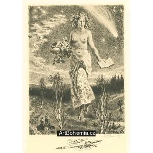 Hold básníkovi, opus 804 (1959) - Druhých 10 básní J.Vrchlického