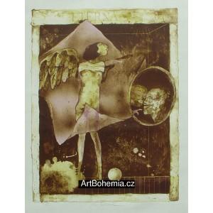 Anděl (Eterna) (Hommage à  Alois Senefelder II)