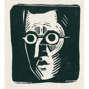 Autoportrét II (1918)