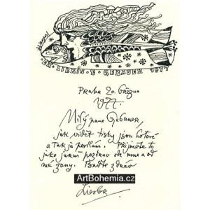 Dopis z 20.3.1977