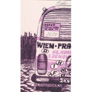 Autobus Wien-Praha