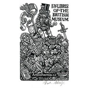Exlibris of the British Museum